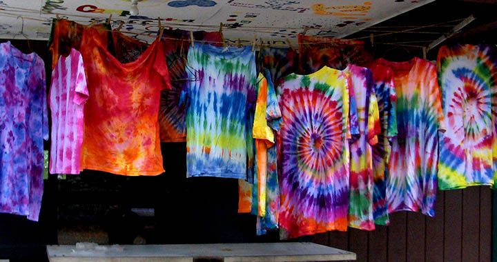 Five easy tie dye patterns for t shirts lifedaily for Tie dye t shirt patterns