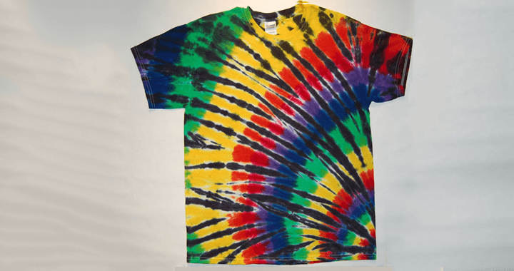 tie-dye pattern The Twist