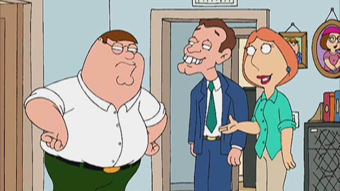 family guy nigel knock knock
