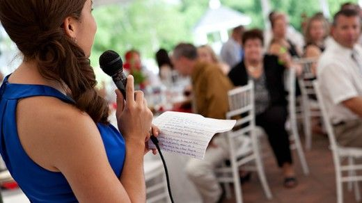 13 Great Tips On How To Prepare Maid Of Honor Speeches