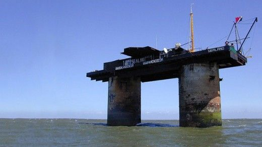 Which Is The Smallest Country In The World-sealand