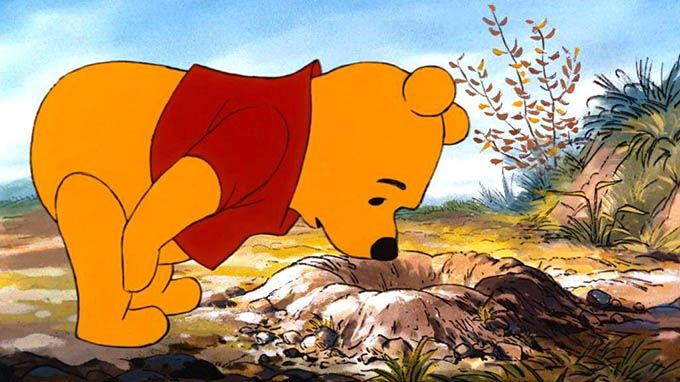 Winnie-The-Pooh-Did you ever stop to think, and forget to start again