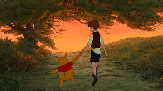 Winnie-The-Pooh give way to the happiness of the person you love