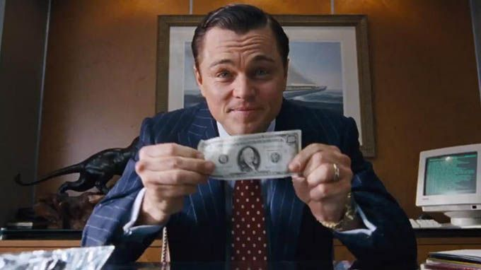 wolf of wall street-money-Oscar Wilde