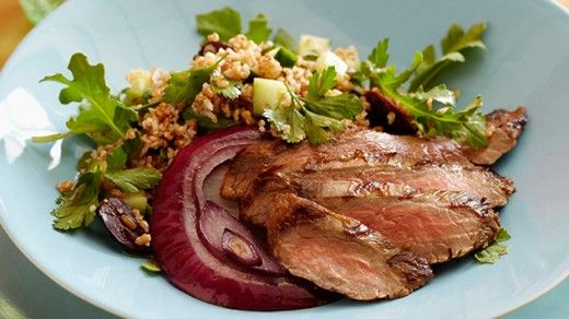 Steak and Tabbouleh Salad