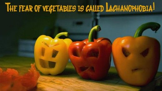15 Random Facts Of Life To Think About fear of vegetables