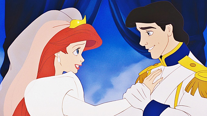 The Little Mermaid Walt Disney Screencaps - Princess Ariel & Prince Eric