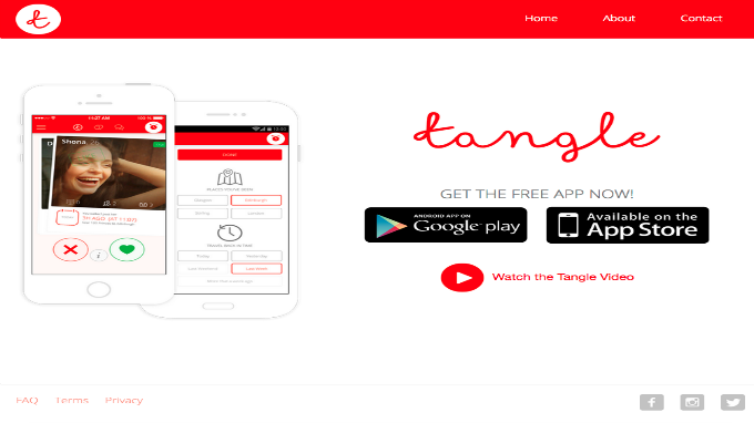 tangle dating app