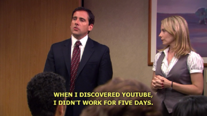Michael Scott, Youtube