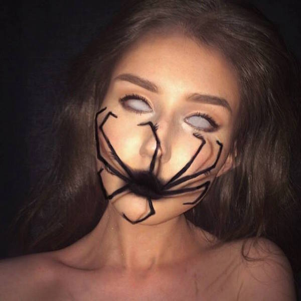 Halloween Makeup Artist Transforms Herself Into Unbelievable ...