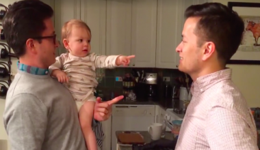 Precious Baby Is Utterly Confused After Meeting Dad's Identical Twin