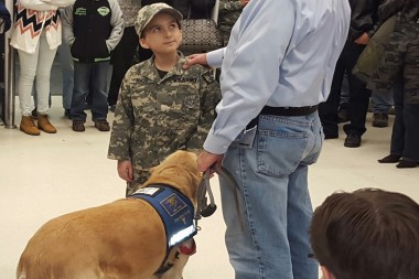 Terminally Ill 9-Year-Old Becomes Honorary Soldier And Saves The Day