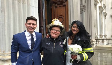 FDNY Chaplain Saved The Day After A Tragedy Made A Bride Miss Her Wedding