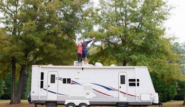 Couple Leaves Behind Big Home For Life On The Road In An Amazing Camper