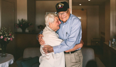 93-Year-Old WWII Veteran Reunited With His Long-Lost Love 71 Years Later