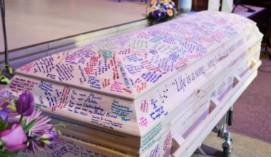 This Teenager Never Made It To High School Graduation So Her Classmates Turned Her Coffin Into A Yearbook